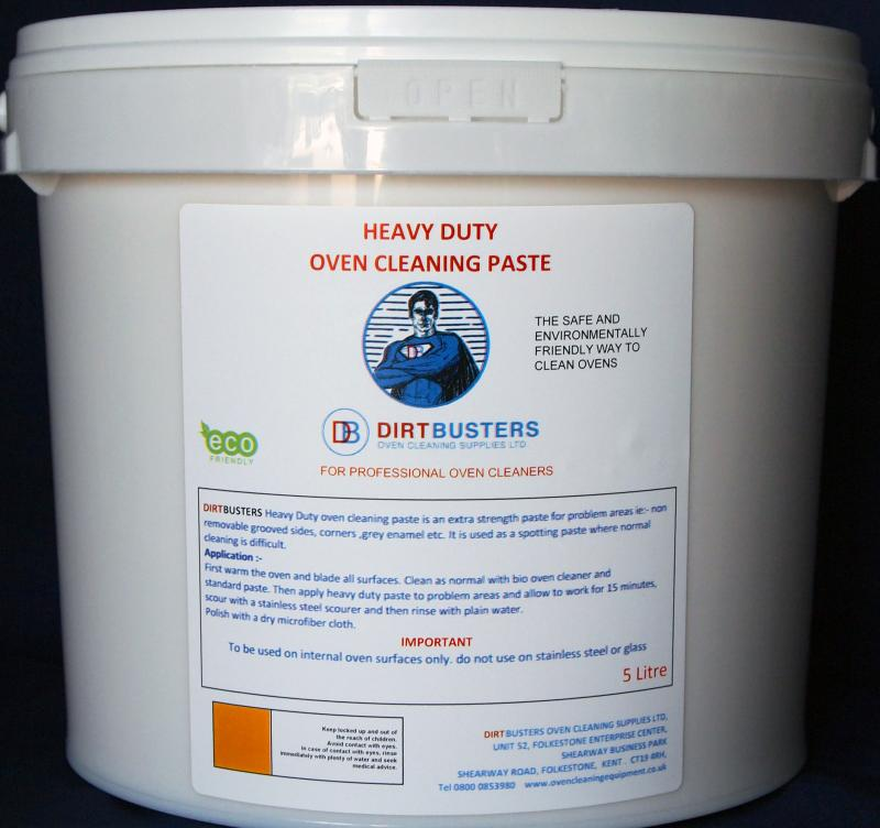 ( new) Heavy duty oven cleaning paste - 5 Litre Tub