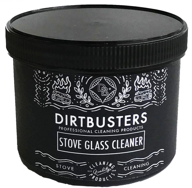 Stove glass cleaning paste