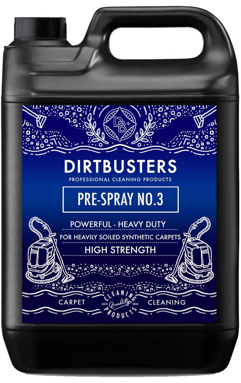 Pre spray no 3 high ph heavy duty