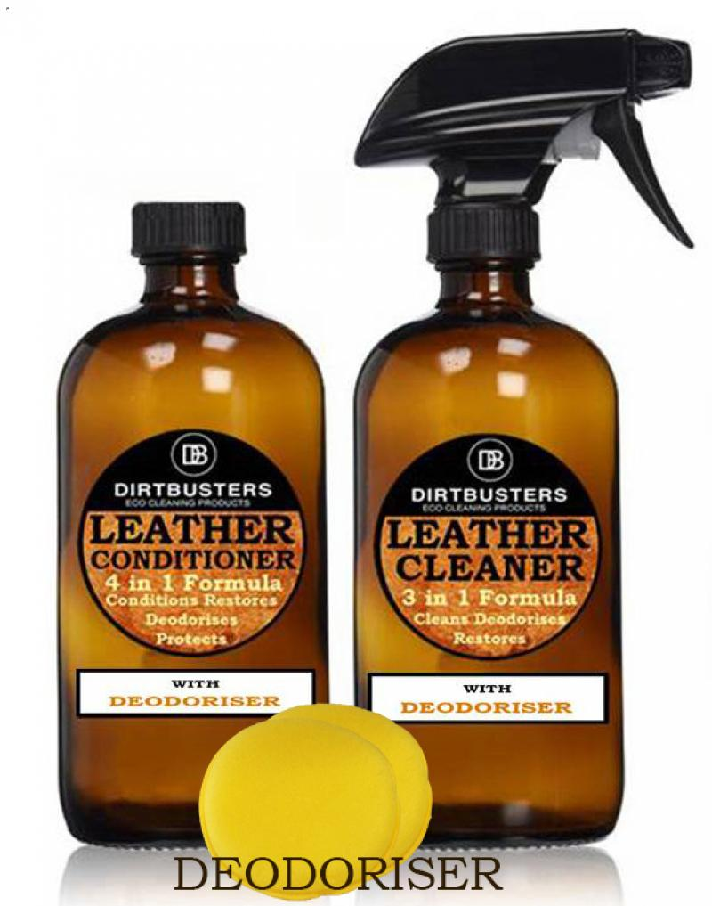 Leather cleaner & leather conditioner