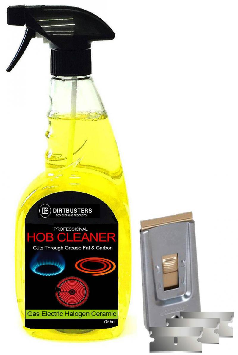 Halogen hob cleaning kit