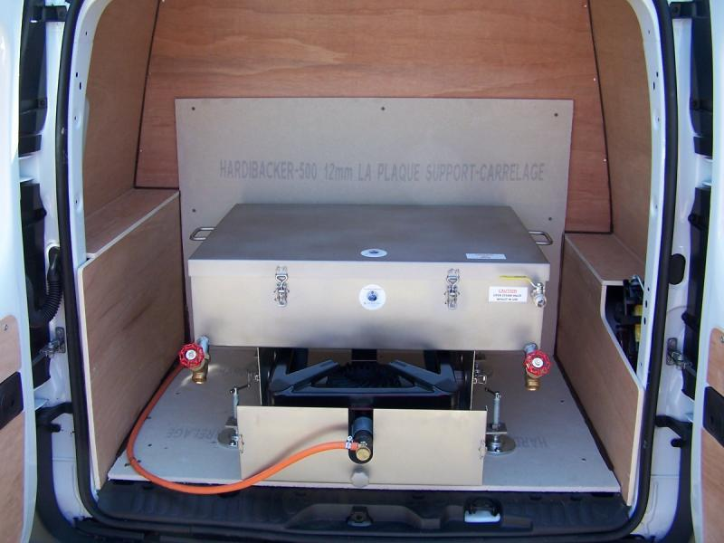 Dirtbusters van mounted start up package (no training or tank fitting)